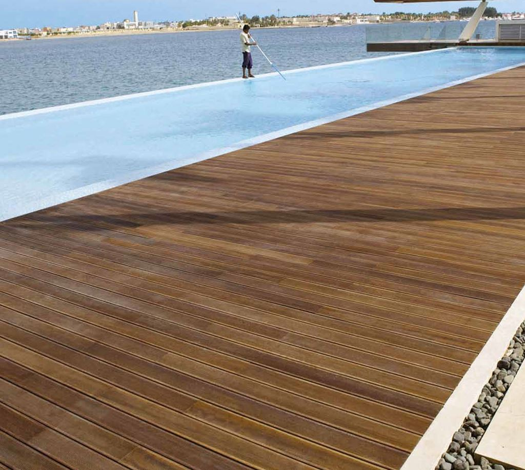 pavimento per esterno in legno Berti havana