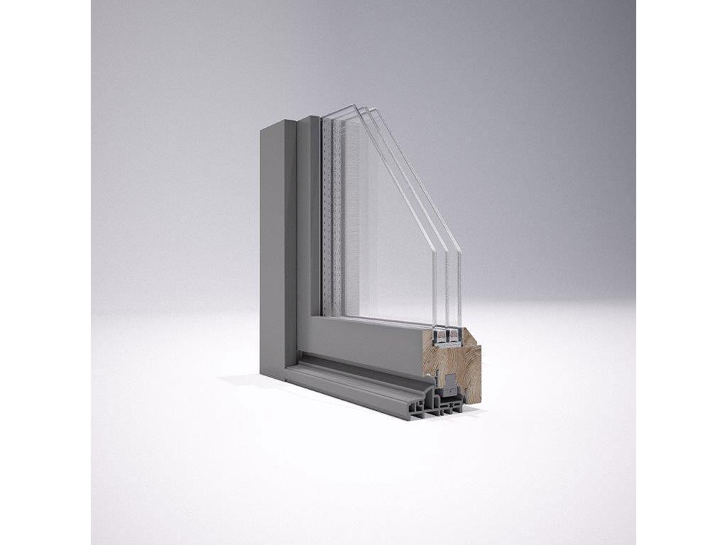 Serramenti in legno alluminio falegnameria maff - Cambiare vetro finestra ...